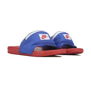Muy lejos Maletín Abuelos visitantes  Nike Benassi JDI Fanny Pack Slide Sandals Bright Crimson Mens Size 7 | eBay