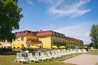 Reise Kurzurlaub SEEHOTEL Brandenburg - 3 Tage Erholung pur inkl. 1 Abendessen