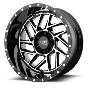 Details About 20 Inch Black Wheels Rims Lifted Chevy Silverado 1500 Tahoe Truck 6 Lug 20x10