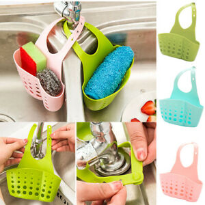 Kitchen-Organiser-Sink-Hanging-Caddy-Basket-Dish-Cleaning-Sponge-Holder-Scrubber