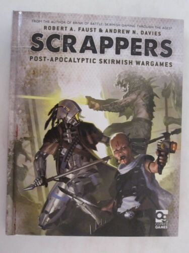 Osprey Scrappers PostApocalyptic Skirmish Wargame