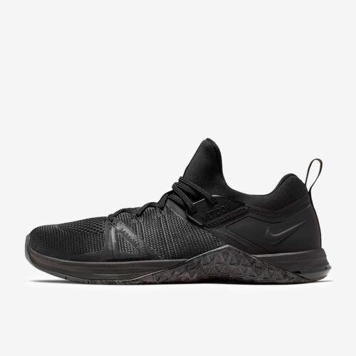 Nike Metcon Flyknit 3 Triple Black AQ8022-010 Men/'s Cross Training Gym Shoes NIB