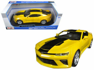 Image Is Loading Maisto 1 18 Special Edition 2016 Chevrolet Camaro
