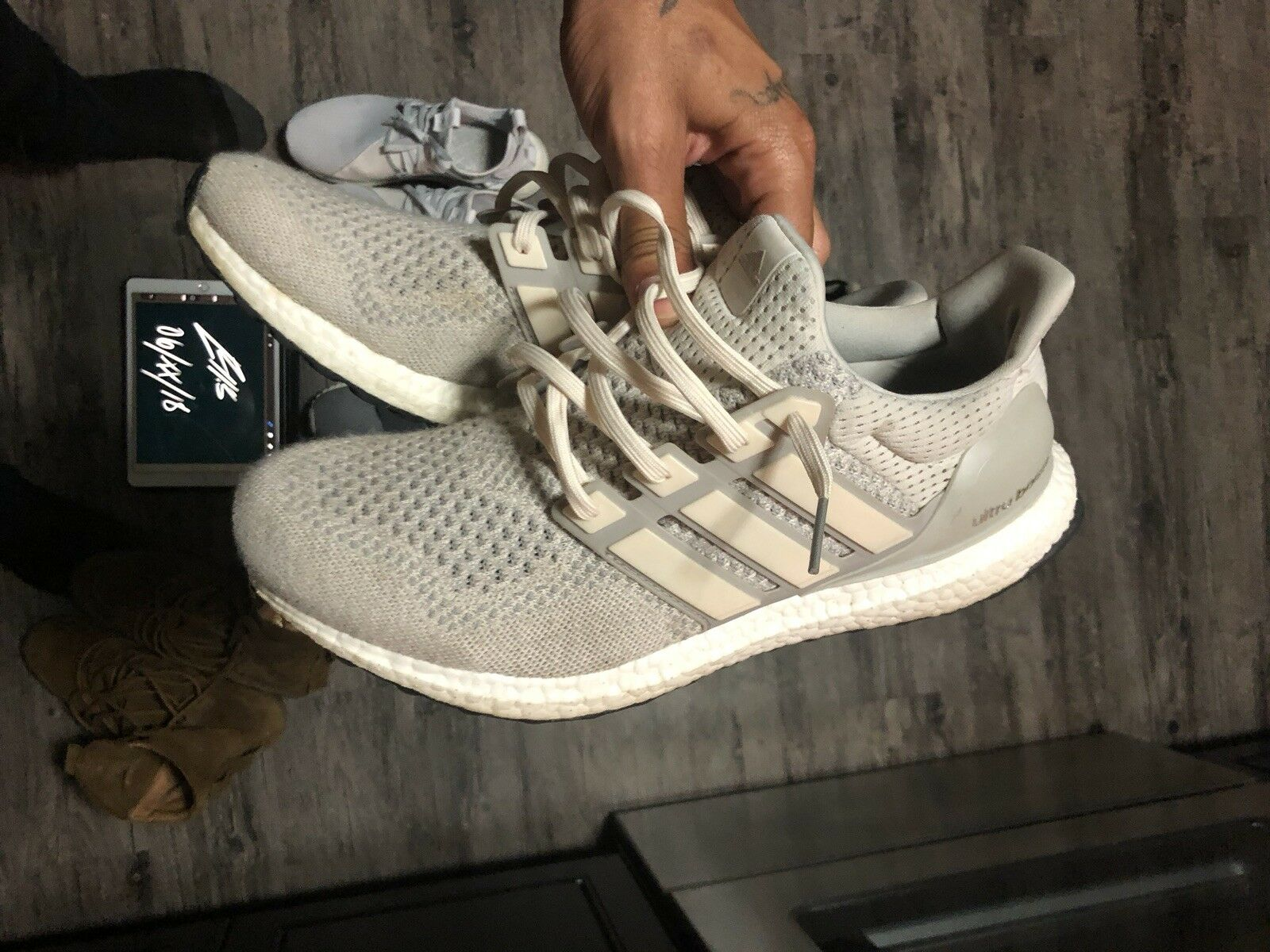 Adidas Ultra Boost 1.0 Cream 12 Mens