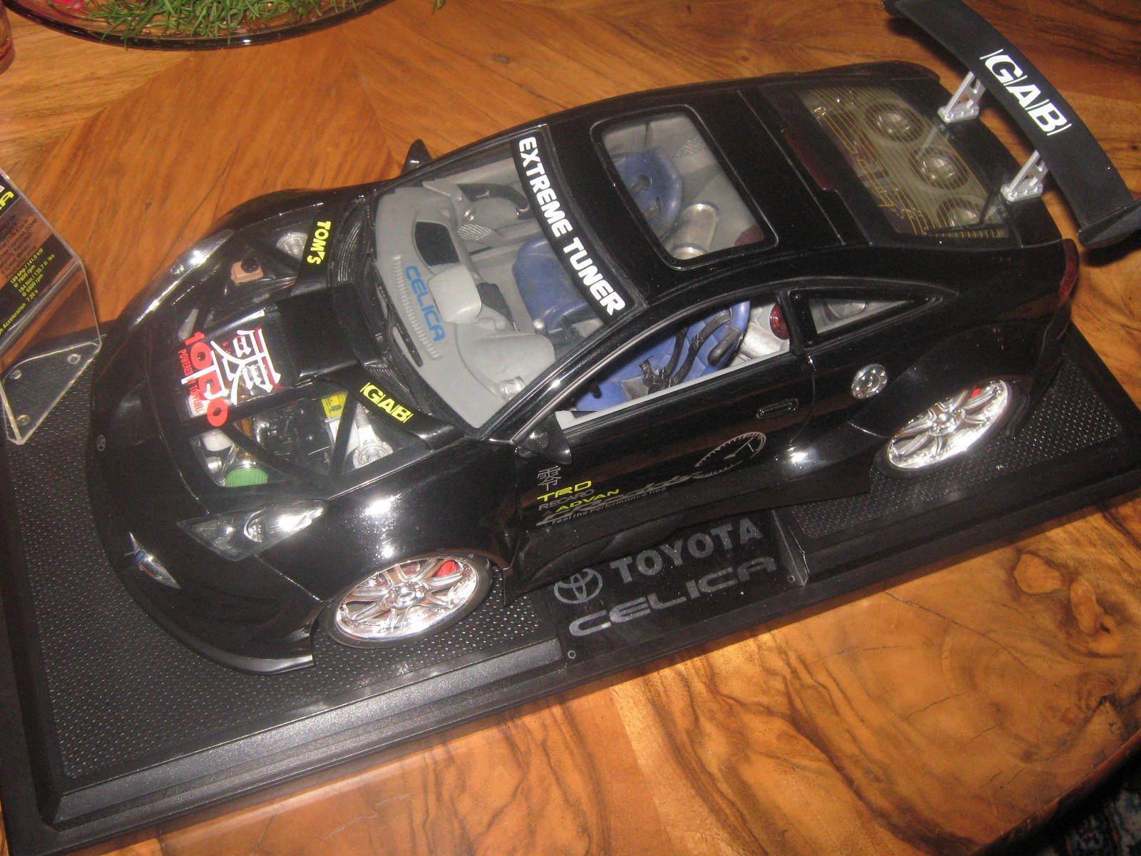 1 12 toyota celica extrêmement tuning racing car top
