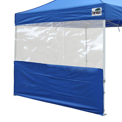 10x10 Panorama Wall Panel Zipper End For Ez Pop Up Canopy Outdoor
