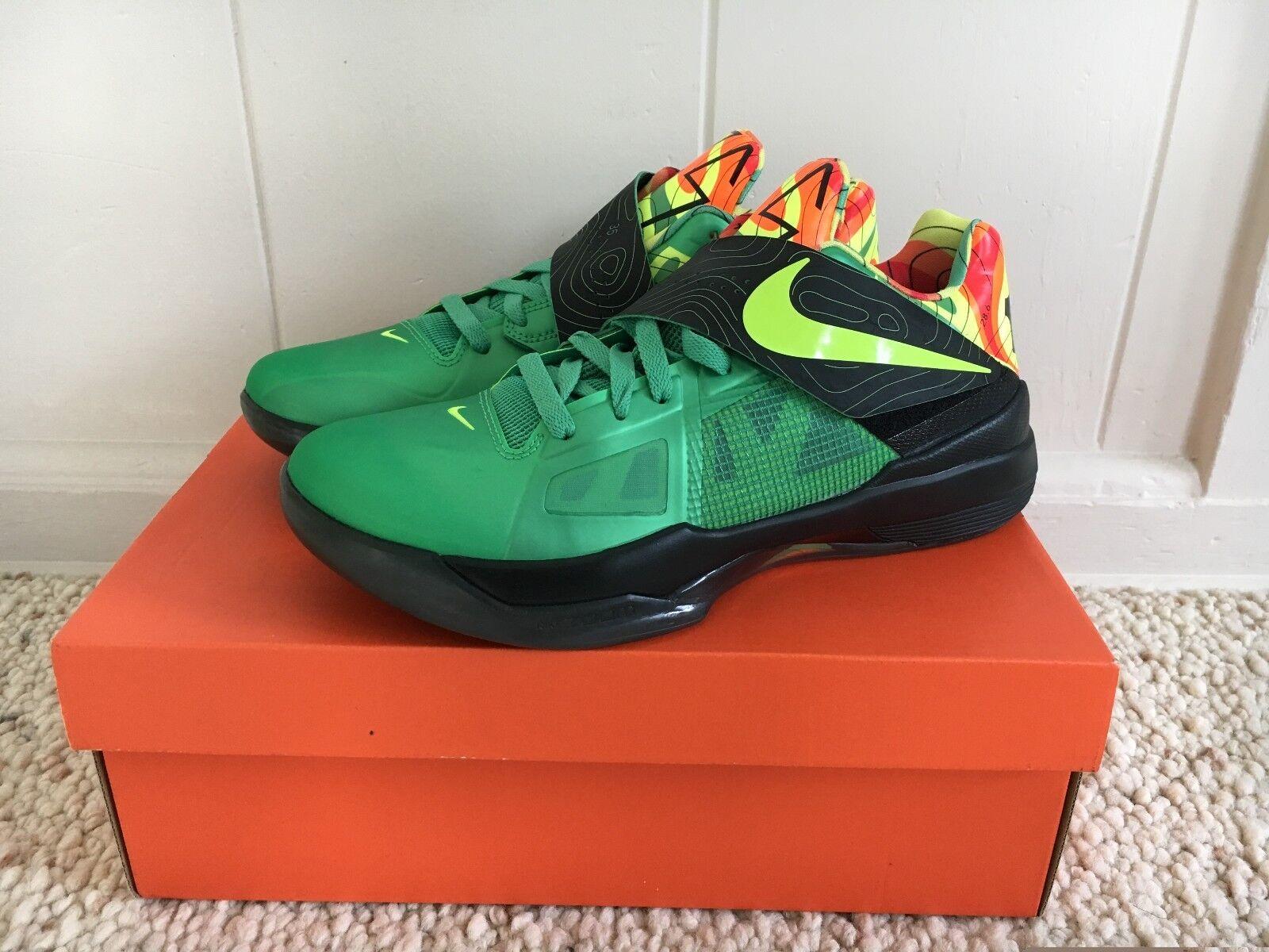 Nike Zoom KD IV 4 Weatherman DS size 9.5