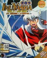 Anime DVD Inuyasha Complete 1-167 End +4 Movie+ OST CD Eng Sub FREE SHIP