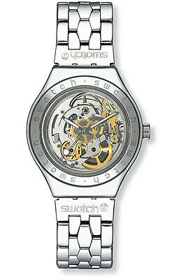 SWATCH BODY AND SOUL METAL MENS WATCH YAS100G