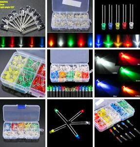 3mm-5mm-Assortment-LED-Diodes-Light-Emitting-Kit-Red-Green-Blue-Yellow-White