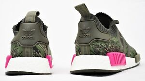 b4844a2e03643 Men's Shoes ADIDAS ORIGINALS NMD R1 PK PRIMEKNIT BOOST SHOES CAMO PINK  BZ0222 NEW MENS