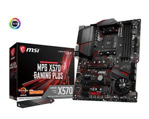 MSI-Gaming-Desktop-PC-AMD-AM4-MPG-X570-GAMING-PLUS-M-2-RGB-ATX-Motherboard
