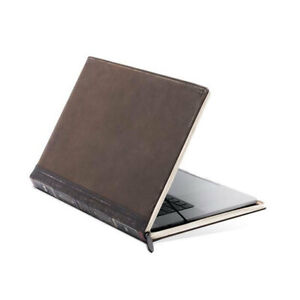 Twelve South BookBook Leather Folio Cover/Case For Apple Macbook Pro 16 Brown