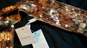 Liz-Claiborne-Endless-loop-Multi-colored-tile-scarf-New