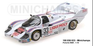 Minichamps - 155836633-Porsche 956k – Brun Motorsport – Teatro grohs Brun nuevo