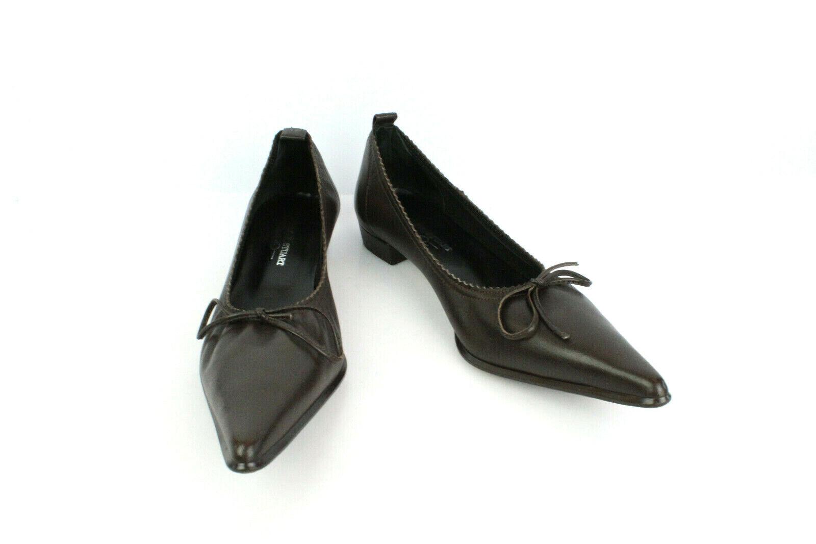 Court shoes ELIZABETH STUART Brown Leather T 36   UK 3.5 VERY GOOD CONDITION