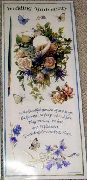 Marjolein Bastin Wedding Anniversary Scrapbook Stickers 3 Large