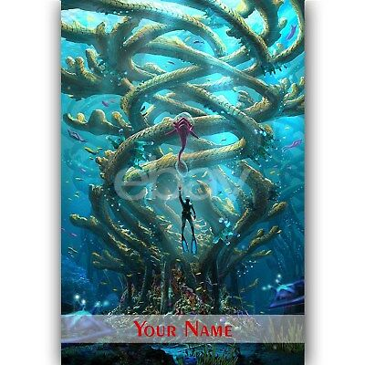 Subnautica Custom Personalized Silk Poster Wall Decor