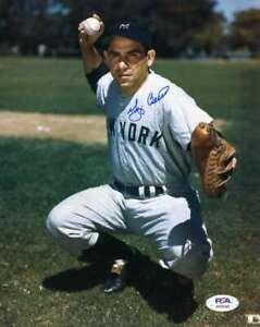 Yogi-Berra-PSA-DNA-Coa-Hand-Signed-8x10-Photo-Autograph