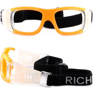 6f40fa5e57e Image is loading Sports-Protection-Prescription-Lens-Goggles-Basketball-Wrap -Around-
