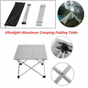 Aluminum Portable Camping Folding Table Outdoor Picnic Beach BBQ Garden Fishing