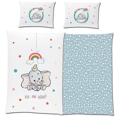 Dumbo Bettbezug und Kissenbezug Mehrfarbig Einzelbett