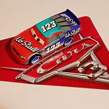 Disney Pixar World of Cars 3 No Stall #123 Todd Marcus 1:55 New Loose No Pack