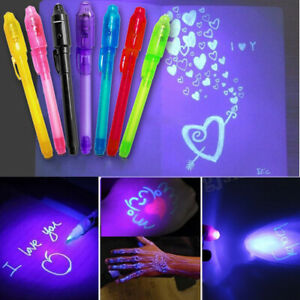 Am-4Pcs-Invisible-Ink-Pen-UV-Light-Money-Test-Pens-Kids-Writing-Drawing-Gift-F