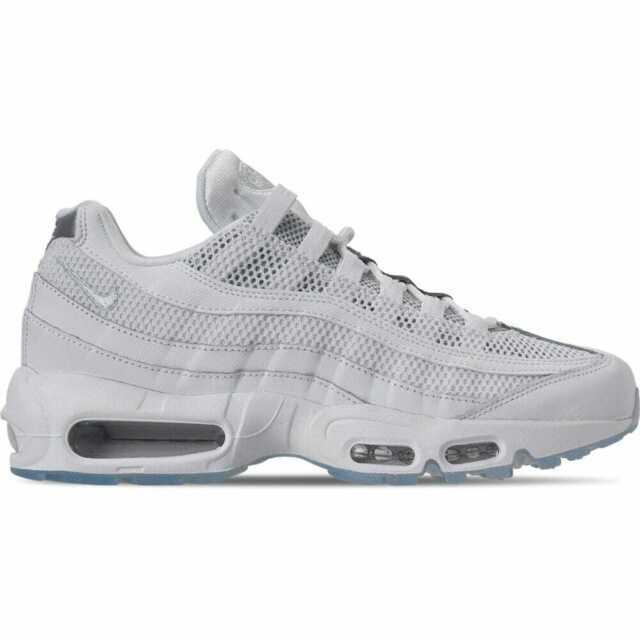 quality design 31094 06c8e Men's Nike Air Max 95 Essential Casual Shoes White/White/Pure  Platinum/Reflect S