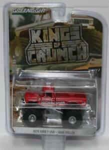 GREENLIGHT-1-64-Kings-of-Crunch-W3-1979-Ford-F-350-Monster-Truck-034-High-Roller-034