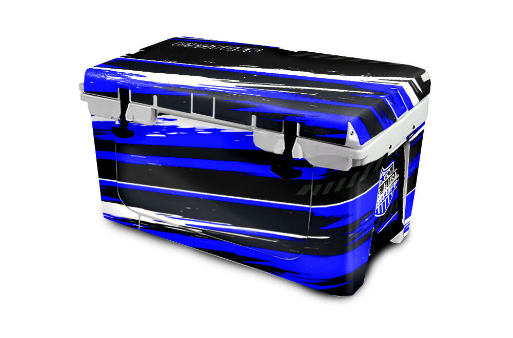 USATuff Cooler  Wrap Decal 'Fits New Mold' RTIC 65QT FULL RZR SxS bluee  wholesale price