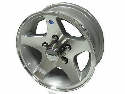 "HiSpec HWT 14"" Aluminum Trailer Wheel Series 04 5-4.5 acc"