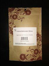 RAW Dong Chong Xia Cao, Cordyceps Sinensis PURE Powder 100 Grams, 0.2% Adenosine