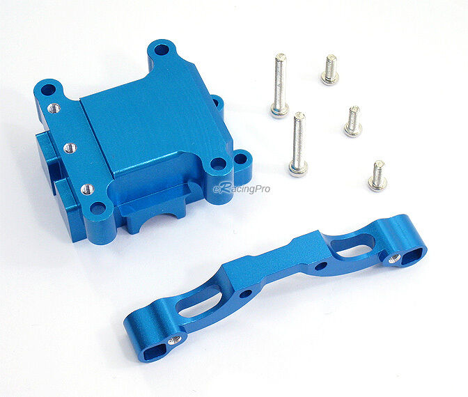 Alloy Front Damper Plate  w GearBox for Tamiya TT-01