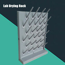 Drying Rack 27 Pegs Lab Science Supply Detachable Cleaning Equipment Frames