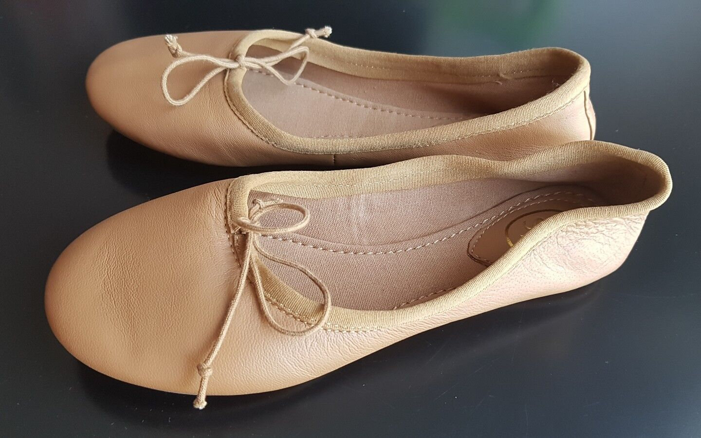 ASH in Ballerine in ASH pelle color cammello 22d1bb