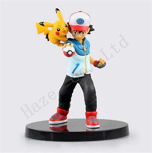Pocket-Monster-Pokemon-Ash-Ketchum-6-039-039-PVC-Complete-Figure-Toy-Model