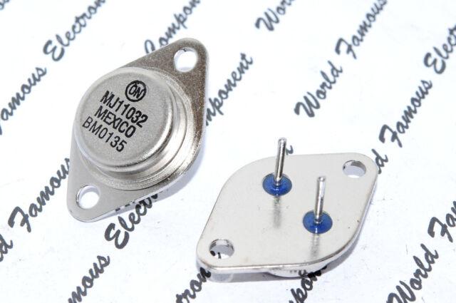 1pcs-ON MJ11032 Transistor - TO-3 (TO3) NPN 50A 120V 300W DARLINGTON