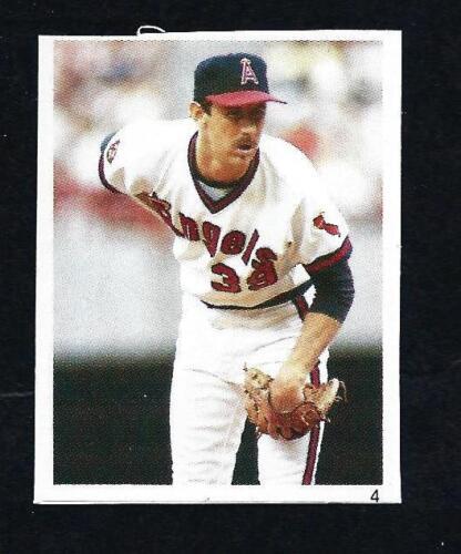 1987 Red Foley Book Mini Sticker Hand Cut ** Pick Sticker// Player **