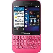 BLACKBERRY Q5 PINK SMARTPHONE HANDY BLUETOOTH GPS WLAN LTE 4G UMTS 3G QWERTY