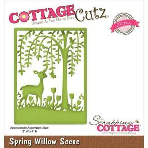COTTAGE CUTZ ELITES Cutting Dies SPRING WILLOW SCENE CCE-228 Scrapping Cottage *