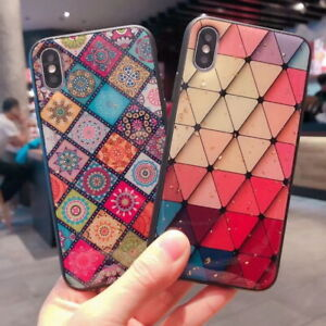 Details About Bling Glitter Lovely Heart Diamond Case Cover For Iphone Xs Max Xr X 8 7 Plus 6s