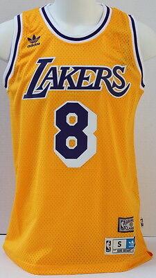 Kobe Bryant Los Angeles Lakers Hardwood Classics #8 Men's Swingman ...
