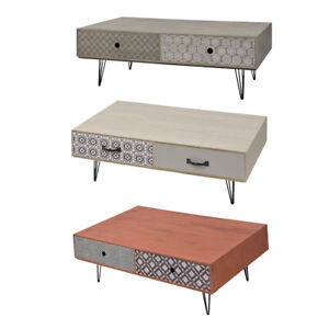 Amazing Details About Vidaxl Coffee Table Living Room Low Sofa Tea Stand Side Cabinet Drawers 3 Colors Pabps2019 Chair Design Images Pabps2019Com
