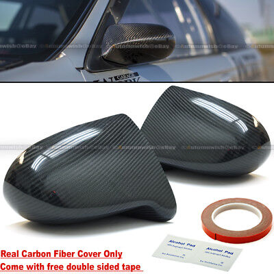 For 96-00 Civic 2//3DR F1 Style Manual Adjustable Black Finish Side View Mirror