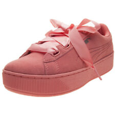 Puma Vikky Platform Ribbon S Donna Dark Pink Scarpe da Ginnastica 5 UK