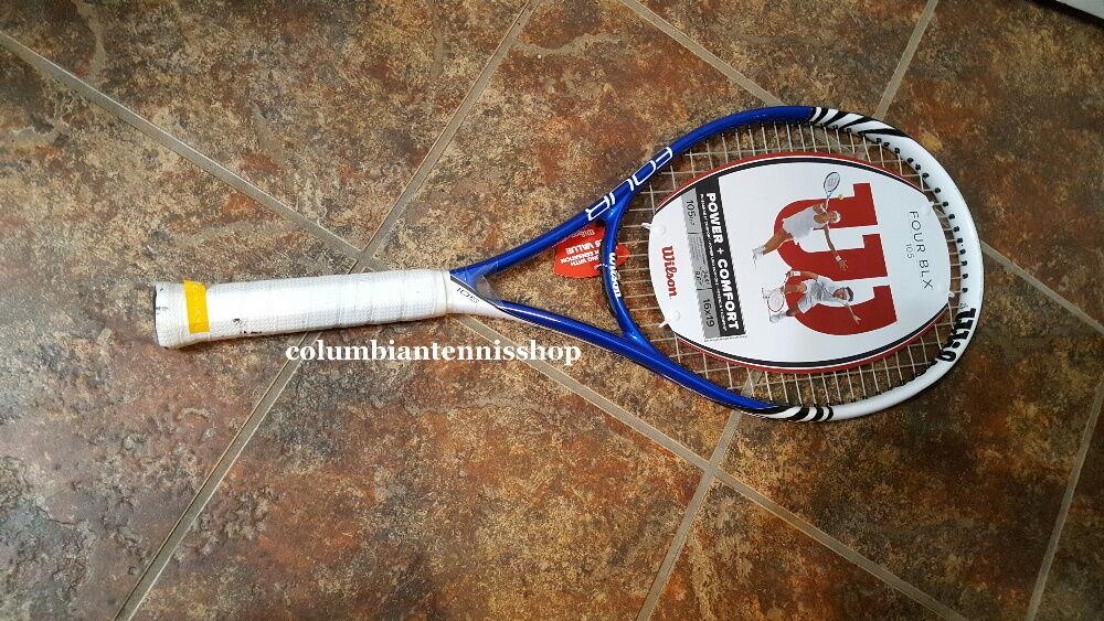 Nuevo Wilson cuatro Blx cuatro cuatro cuatro 105 basalto MP Raqueta De Tenis prestrung 4 1 2 (4) ae0e95