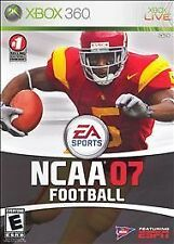 NCAA Football 07 (Xbox 360, 2006) OPEN BOX GUARANTEED UNUSED GAME