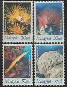 214-MALAYSIA-1997-INTERNATIONAL-YEAR-OF-THE-REEF-SET-FRESH-MNH