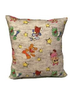 Muppets Pillow Muppet Babies  Pillow 2021 Designs Handmade In USA